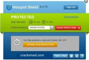 Hotspot Shield Crack Serial Key